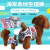【全店2つの10%】スペト犬生理用ズボンタイツ生理用ズボン犬の姉と妹のズボン【ストライプブルー】XL-ウエスト45-55 CM